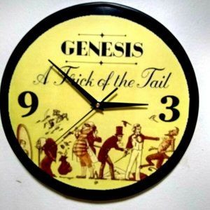 GENESIS - TRICK OF THE TAIL - 12IN WALL CLOCK